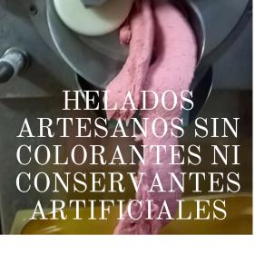 Helados sin colorantes ni conservantes, Sirvent 1926