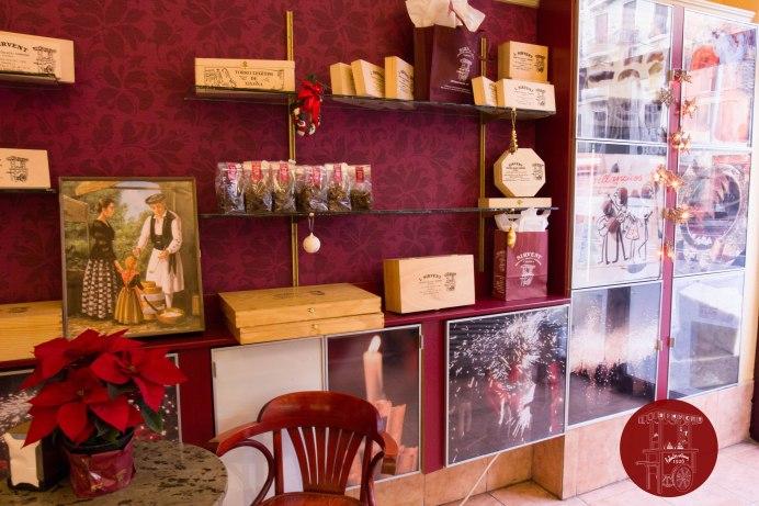 Nuestra tienda de la Ronda Sant Pau 3, Barcelona, Sirvent 1926